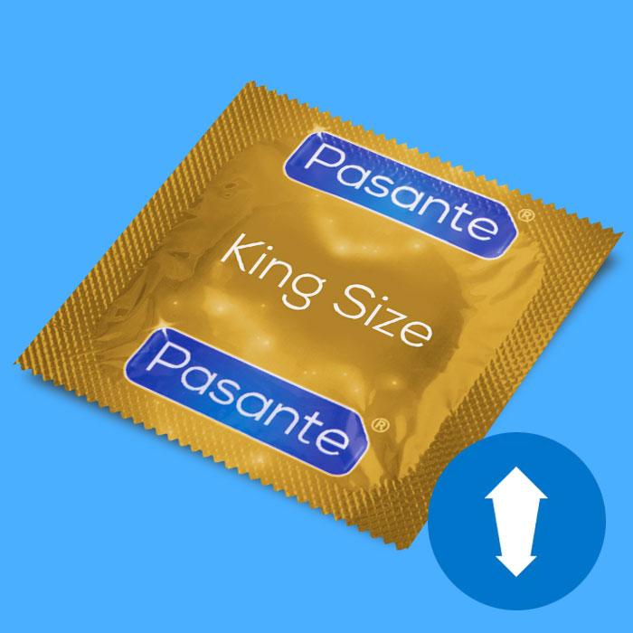 b9b47499209 Kondoom Pasante King Size - suur, 1 tk. - Osta epoest liset.ee